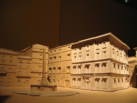 Palazzo. Piazza della Rotunda; Rome. Aaron Holverson. 2008.