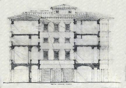 Palazzo. Piazza della Rotunda; Rome. Brian Mork. 2008.