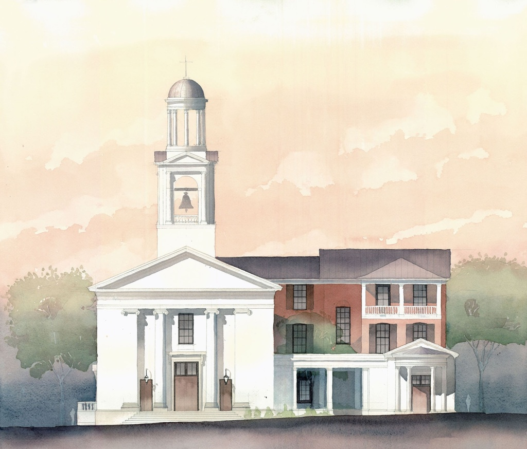 Christ Church. Savannah. 2010. Brian Mork M.Arch.'11. Judson University Graduate Studio. Christopher C. Miller, PhD.