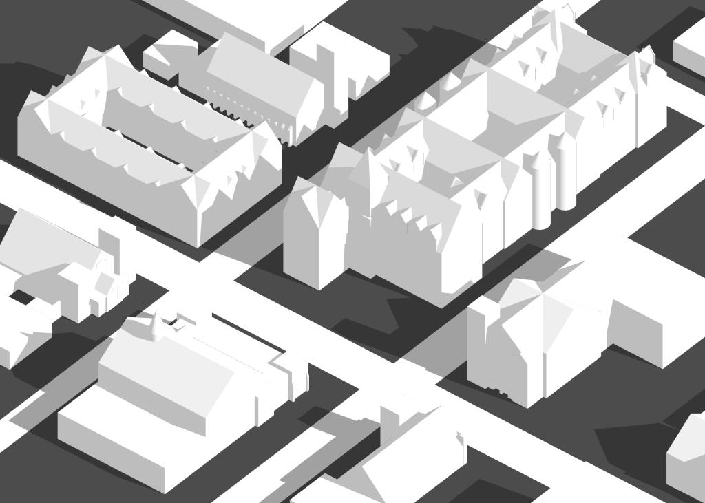 City Hall proposal.  Elgin, Illinois. 2016.  Brian Dixon.